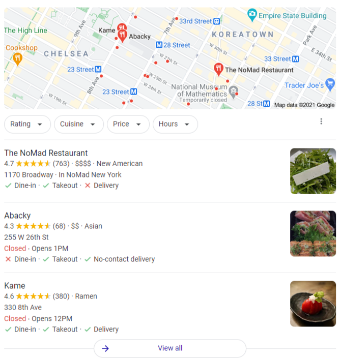 Small business SEO services Local SEO Google Local Pack