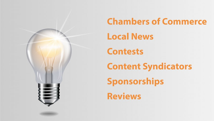 Local SEO services - source for local links and citations
