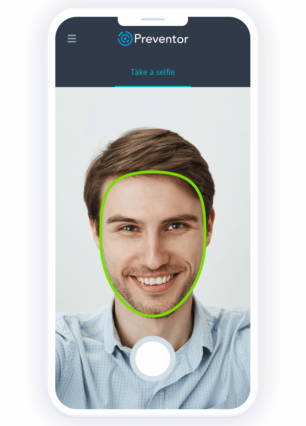 Photo match and liveness detection.