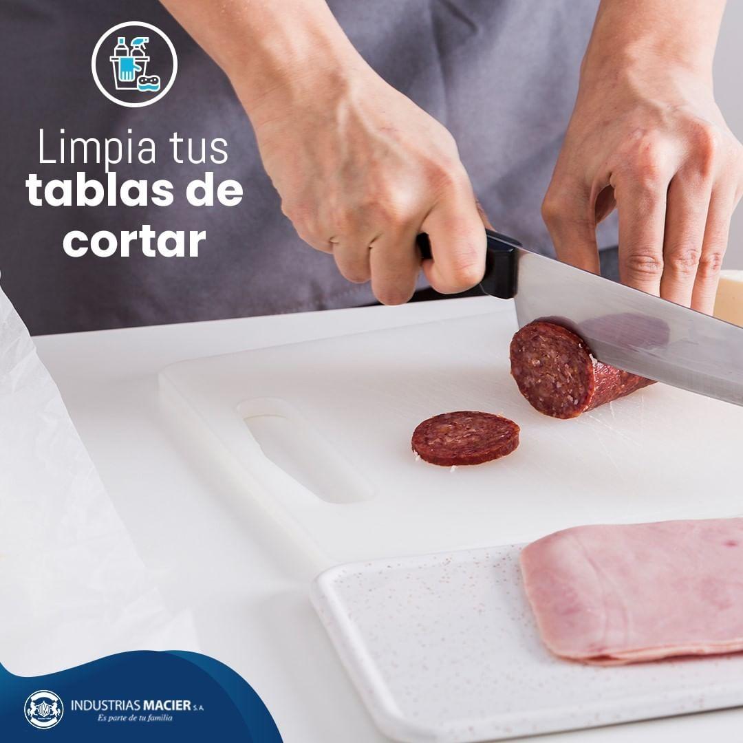 Limpia tus tablas de cortar