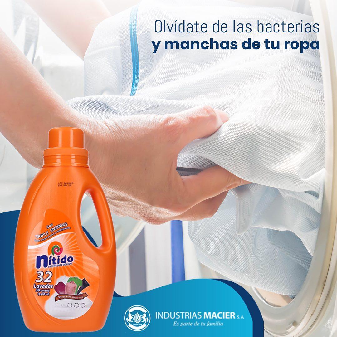 Olvídate de las bacterias y manchas de tu ropa