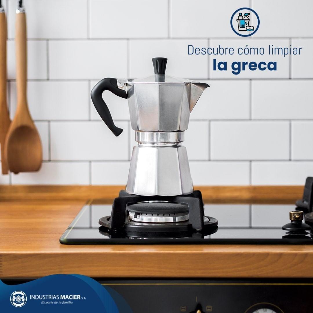 Descubre cómo limpiar la greca