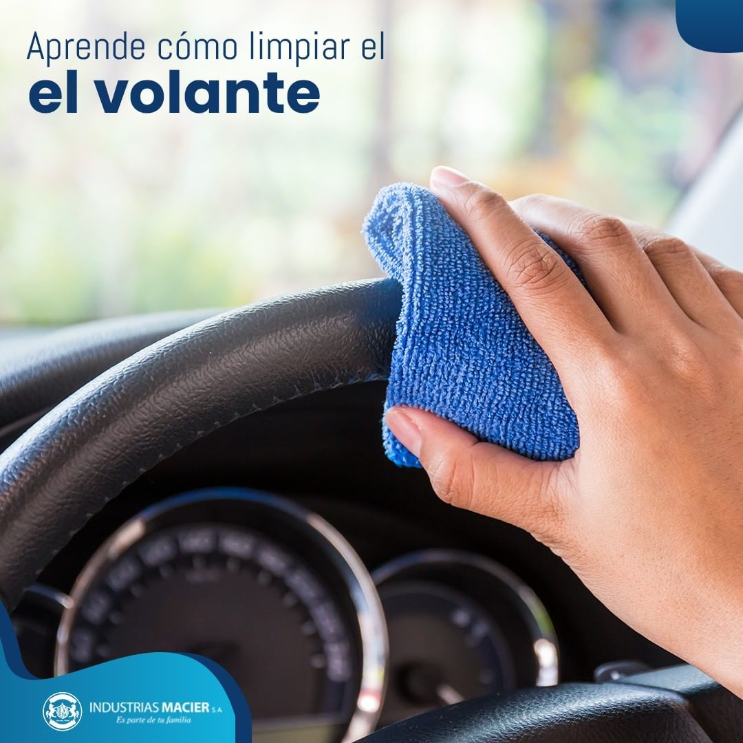 Aprende cómo limpiar el volante