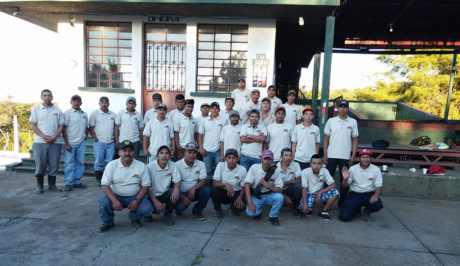 Our trained staff comprised of dedicated locals specialized in Coffee Production and Processing at the Mill.