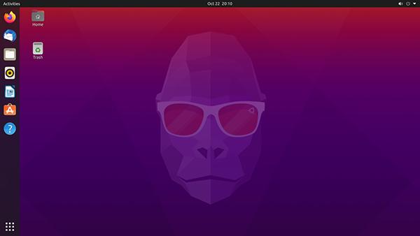 La GUI di Ubuntu