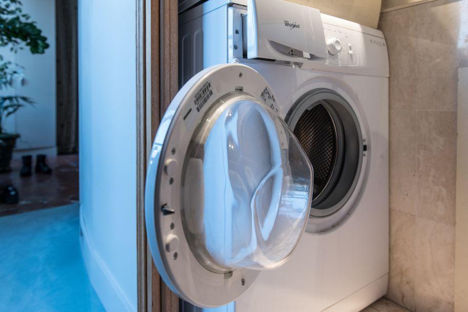 machine à laver plaque signalétique