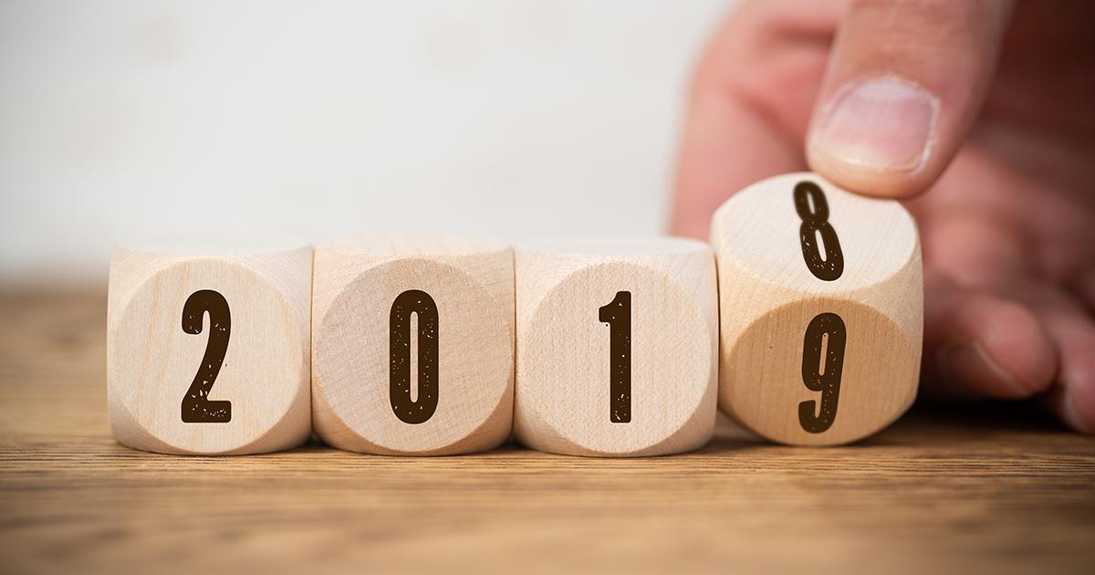 2018 à 2019
