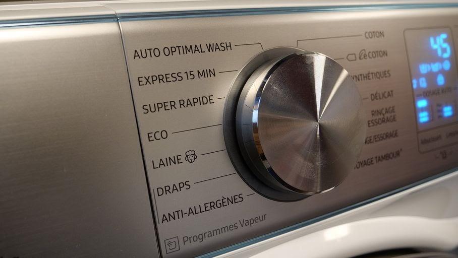 programmes lave-linge