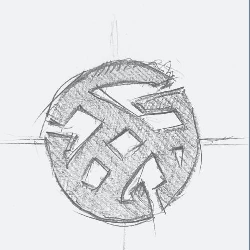 agrifiber logo brainstorm symbol sketch