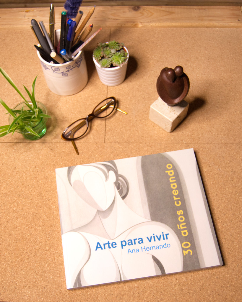 """Arte para vivir. Ana Hernando. 30 años creando"""