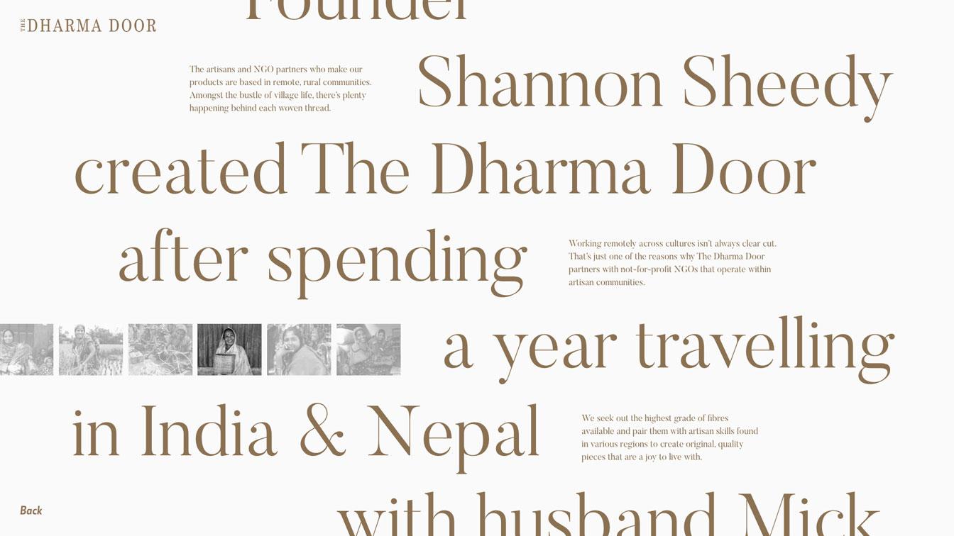 dharma door layout study