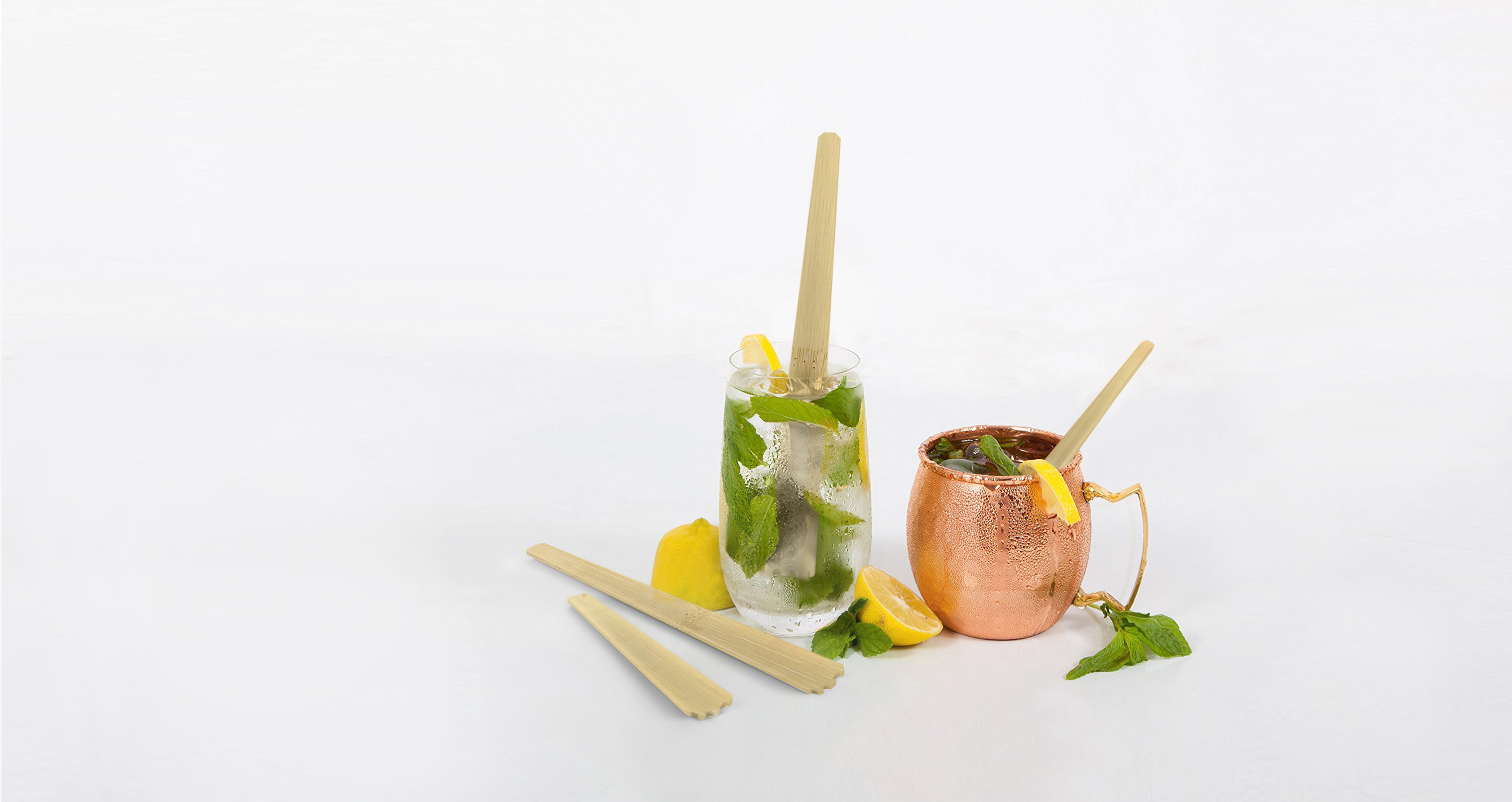 Eco cocktail stirrer rendering
