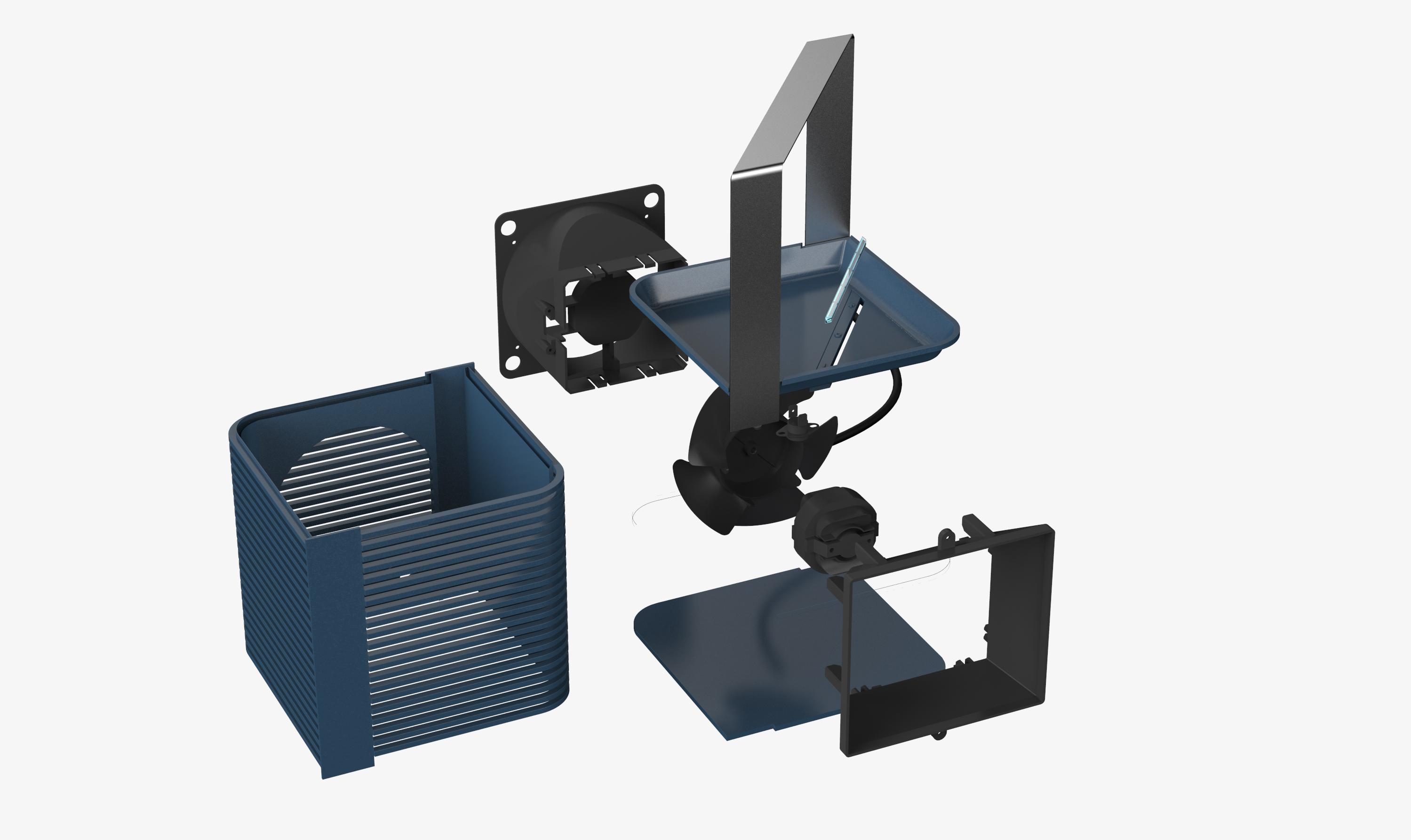 3D industrial design rendering