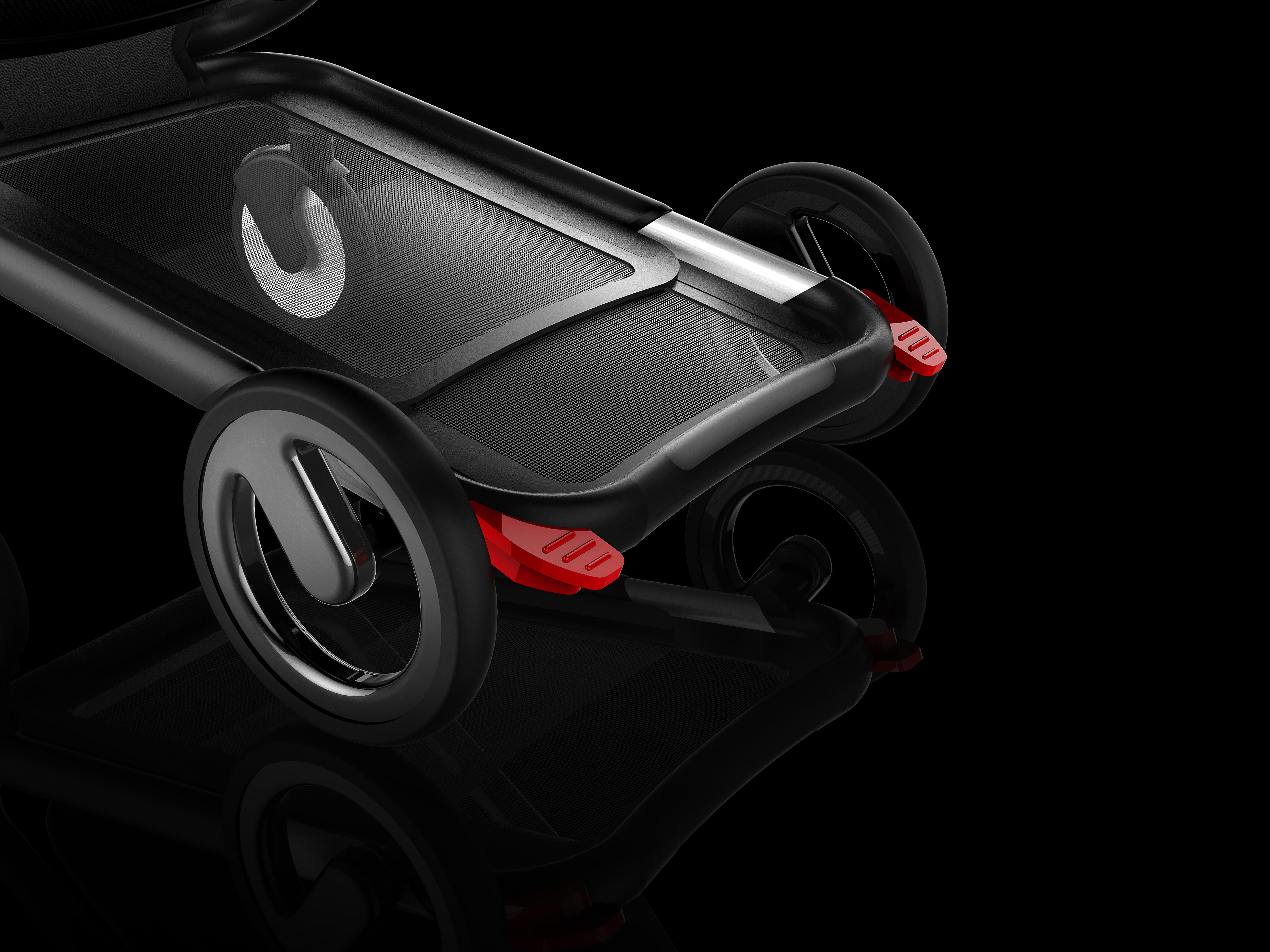 stroller design detail