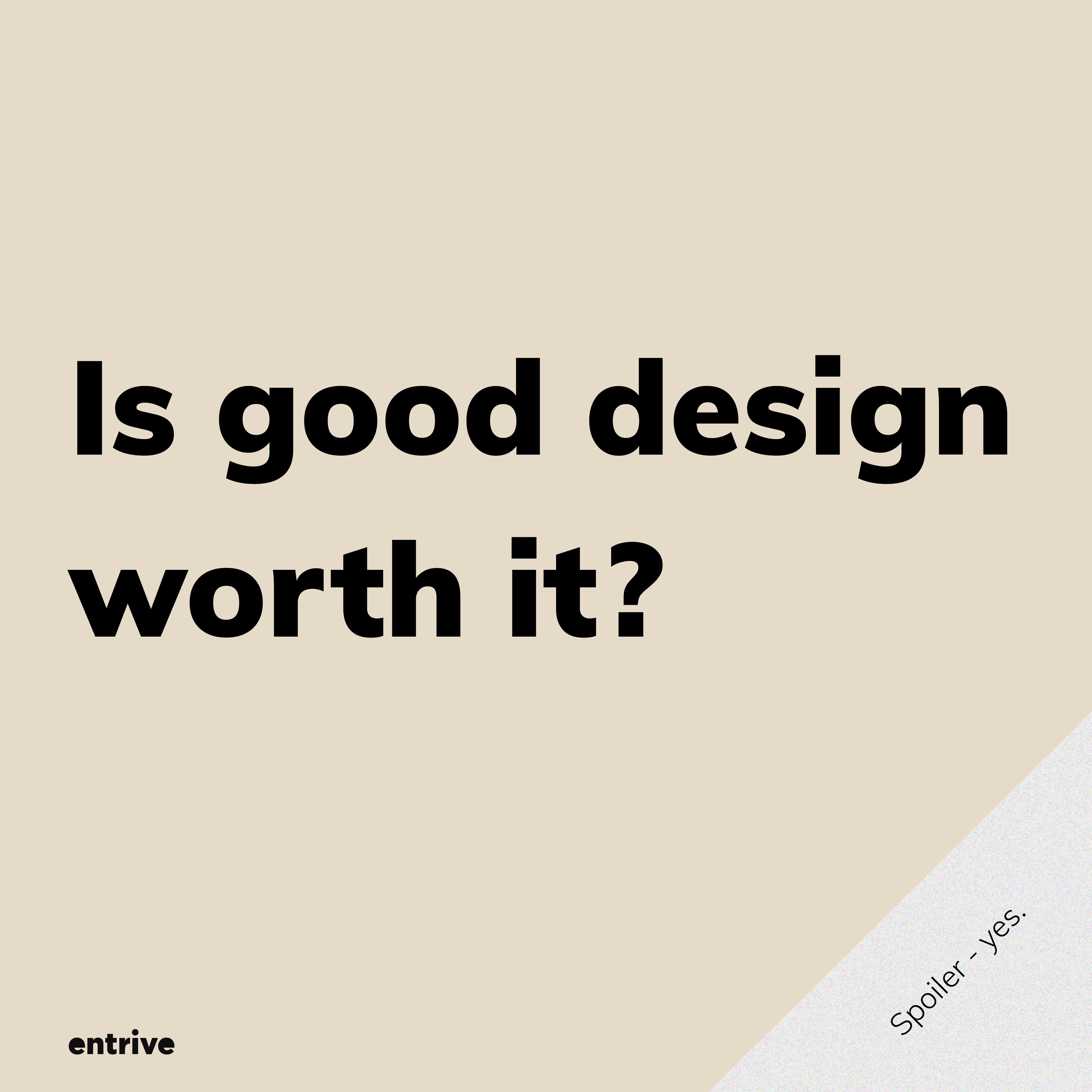 good design worth it