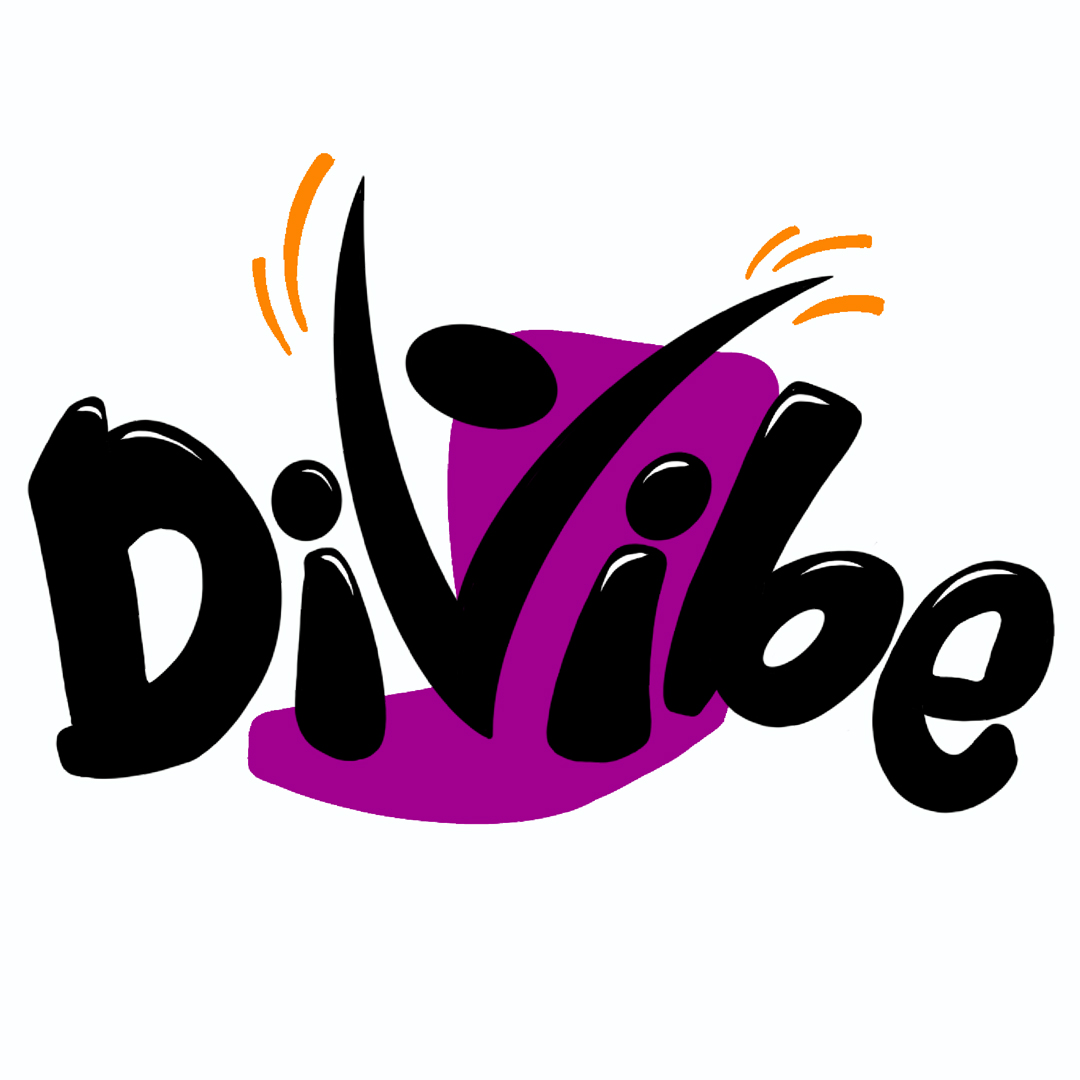 Logo of Divibe, chair fitness business. A client of Wrighty Media