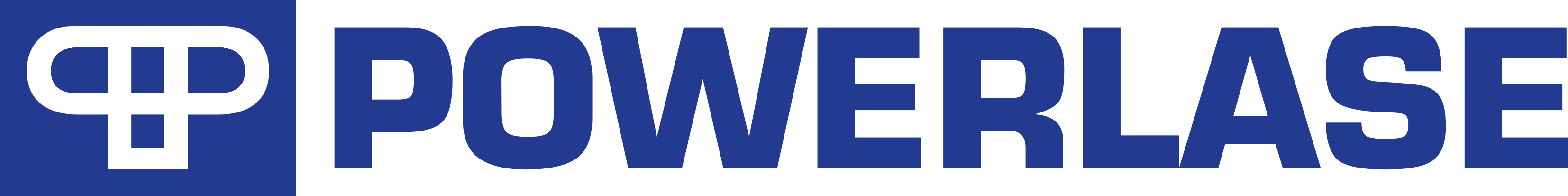 The logo of Powerlase Ltd in Crawley, a past client of The Wrighty Media Agency