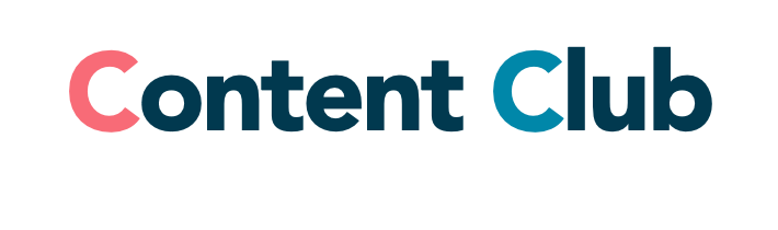 The logo of Content Club in Brighton, a past client of The Wrighty Media Agency