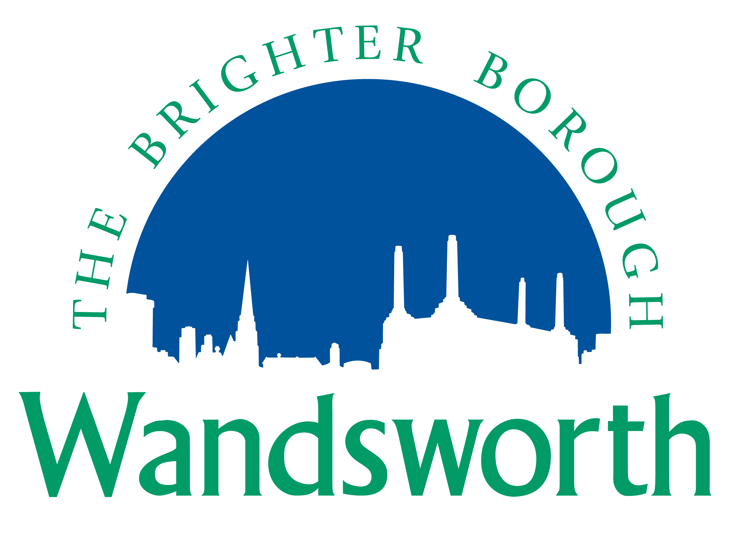 The logo of Wandsworth Council, a past client of The Wrighty Media Agency