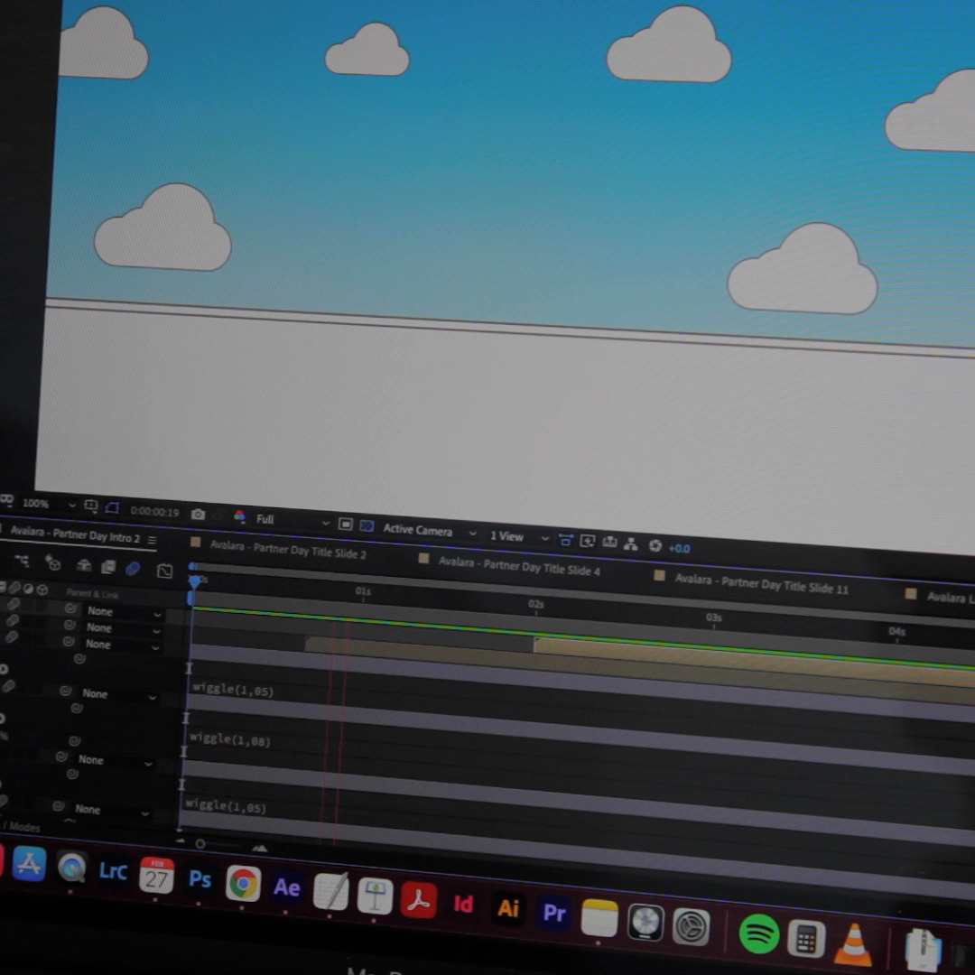 Motion Graphic animation created in After Effects by Marketing