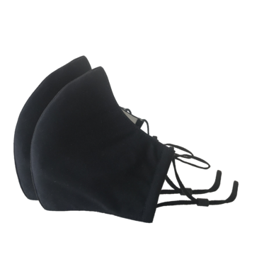 3-Layer Face Mask Black