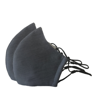 3-Layer Face Mask Charcoal