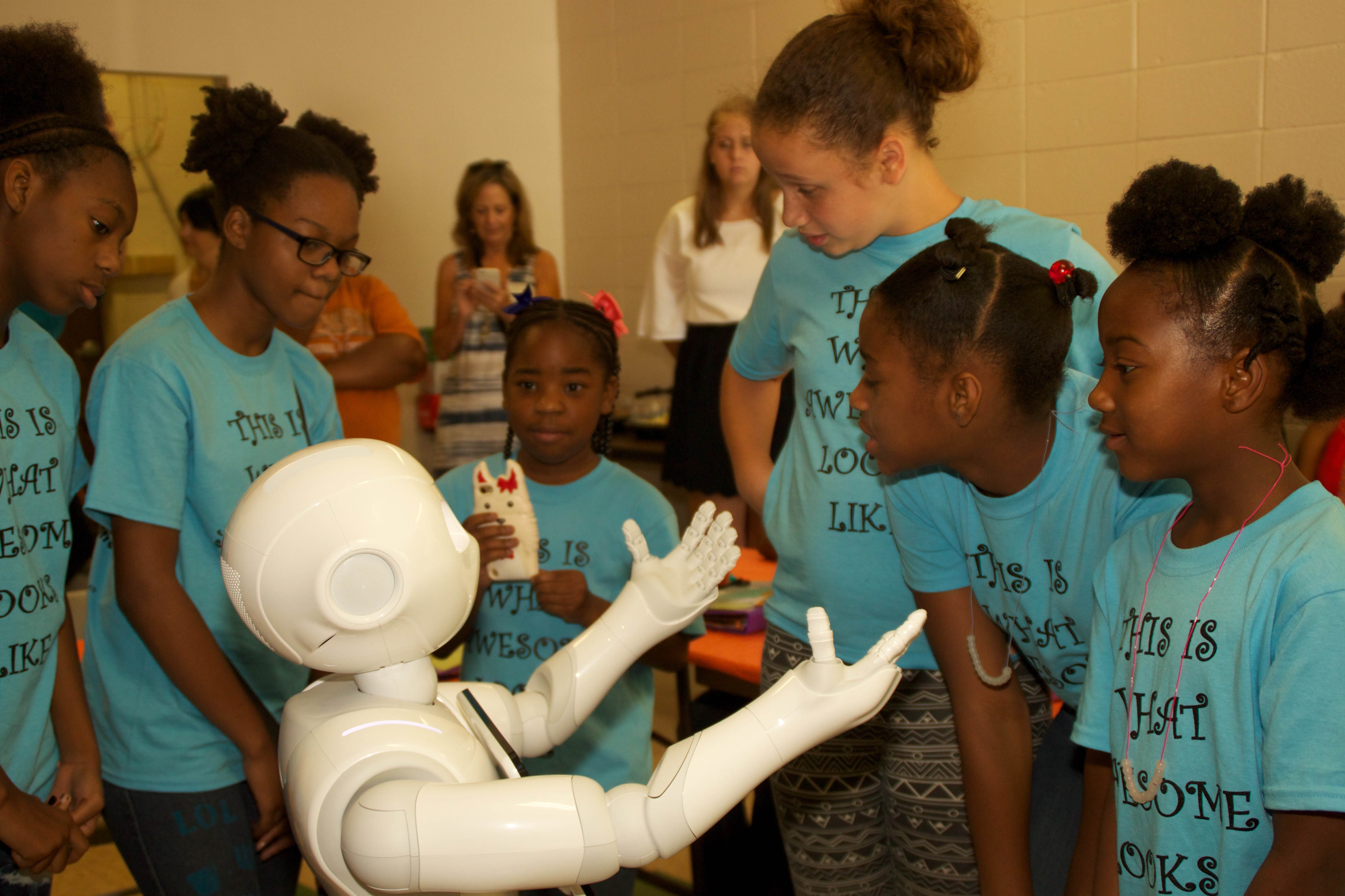 image of the Girls who code bootcamp