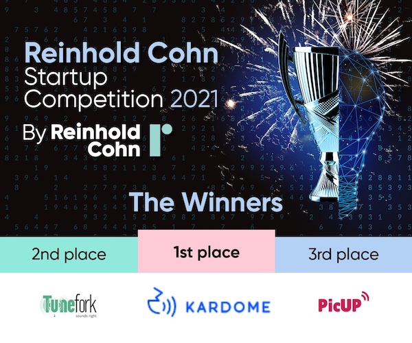 Kardome Places First in Reinhold Cohn Group Startup Competition