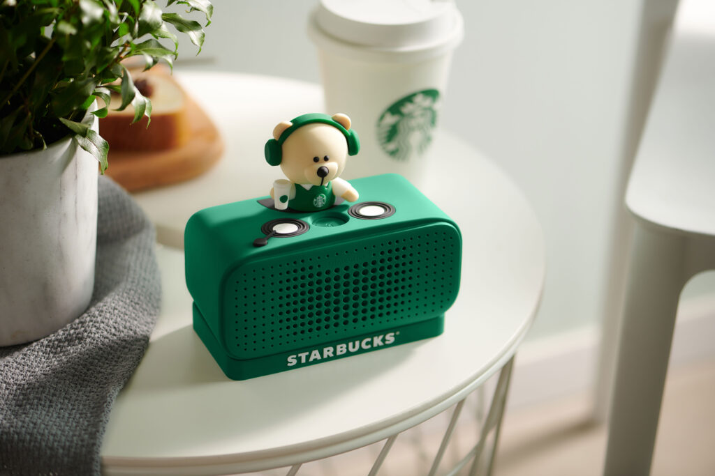 Starbuck's custom voice assistant developed in partnership with Alibaba.