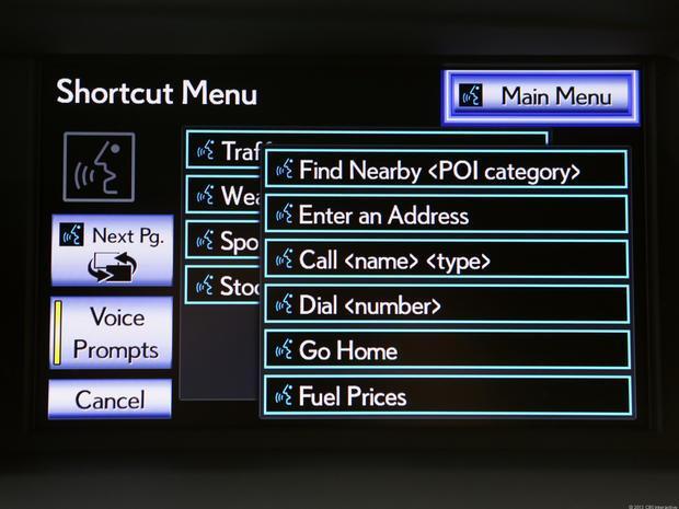 Car voice control for Lexus