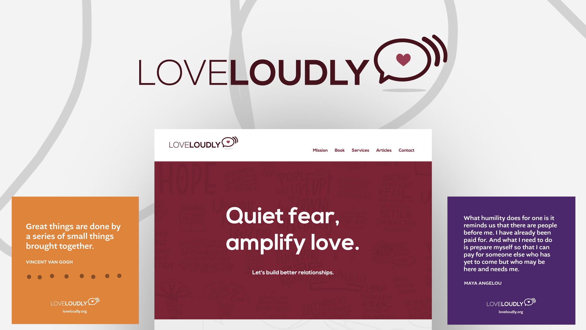 Love Loudly