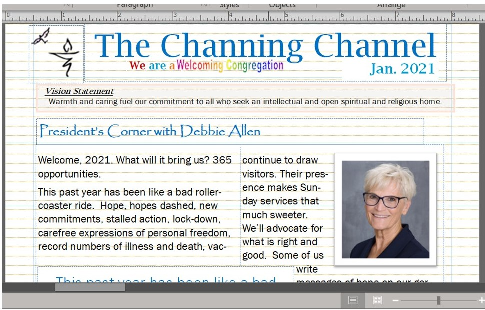 The Channing Channel - January 2021