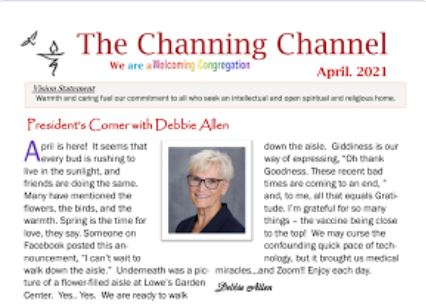 The Channing Channel - April 2021