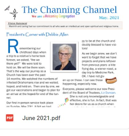 The Channing Channel - June 2021