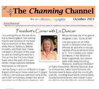 Channing Channel - October 2021