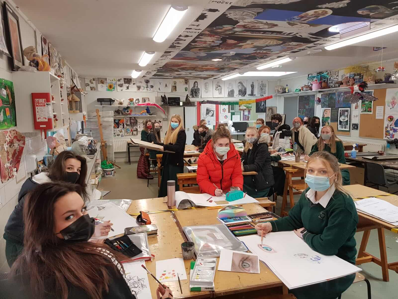 6th Year Scoil Mhuire agus Ide Art Class reach 'Fresh Film Final'