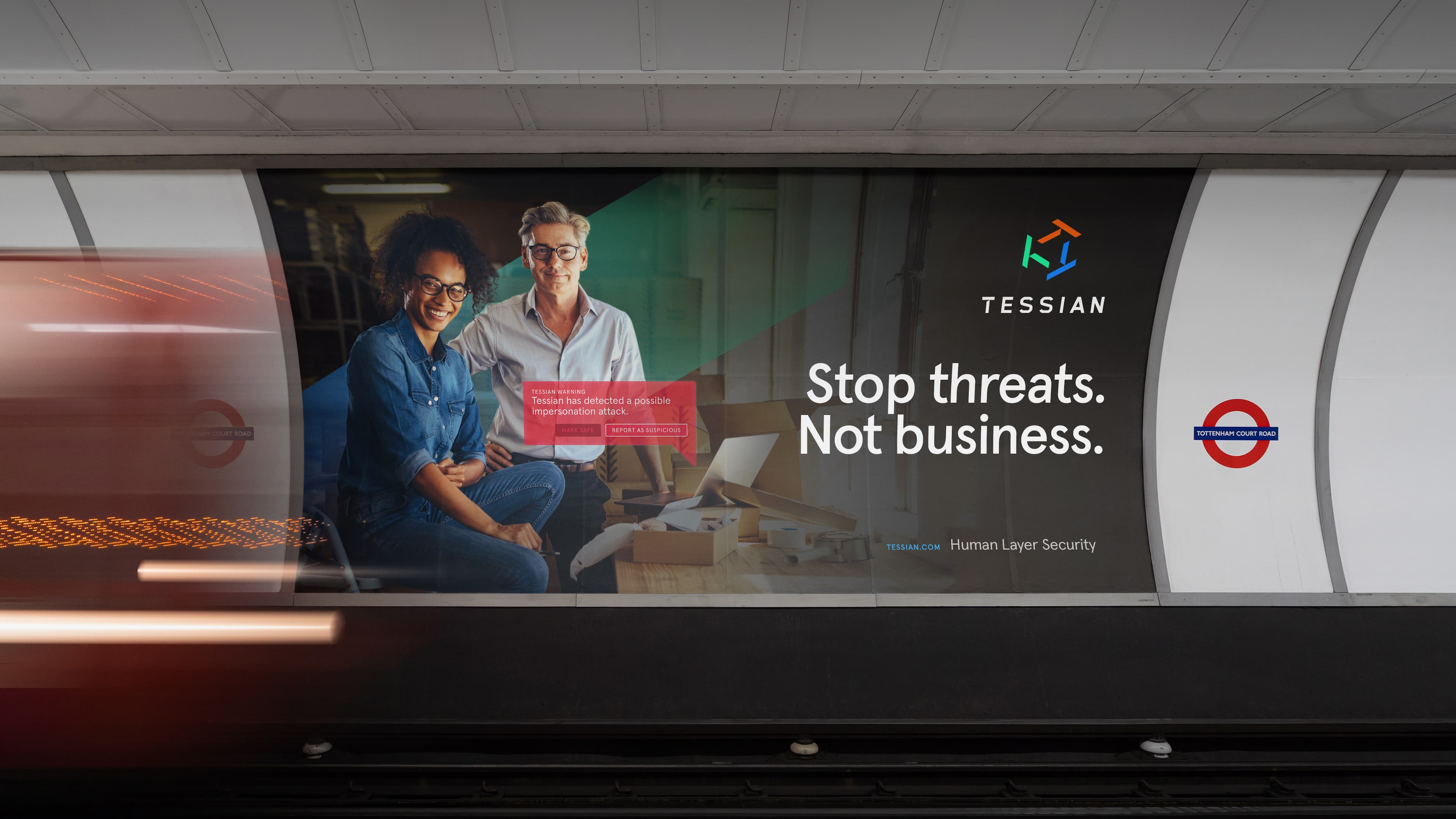 A digital-first brand identity for Sequoia-backed cybersecurity firm Tessian —the world's first Human Layer Security platform — as it proposes a new human-first approach to cybersecurity and scales for a global audience of enterprise customers.