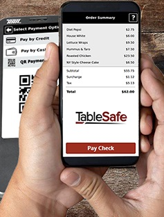 pay at the table app