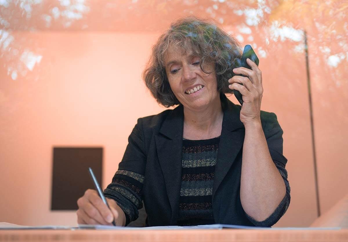 Telefonat Freundlicher Service Birgitta Lancé
