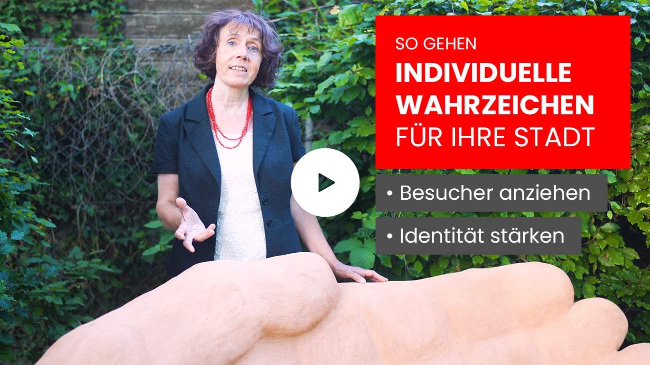 Video So gehen Individuelle Wahrzeichen für Städte Besucher anziehen Identität stärken