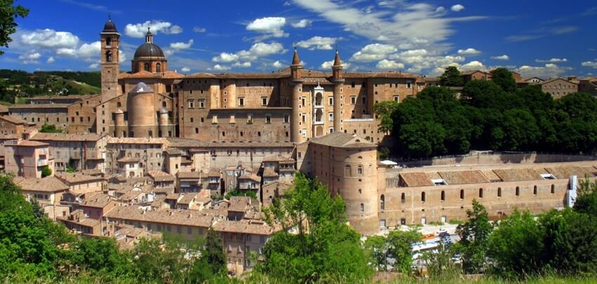Stadt Urbino Inviting Places Story Atmosphäre