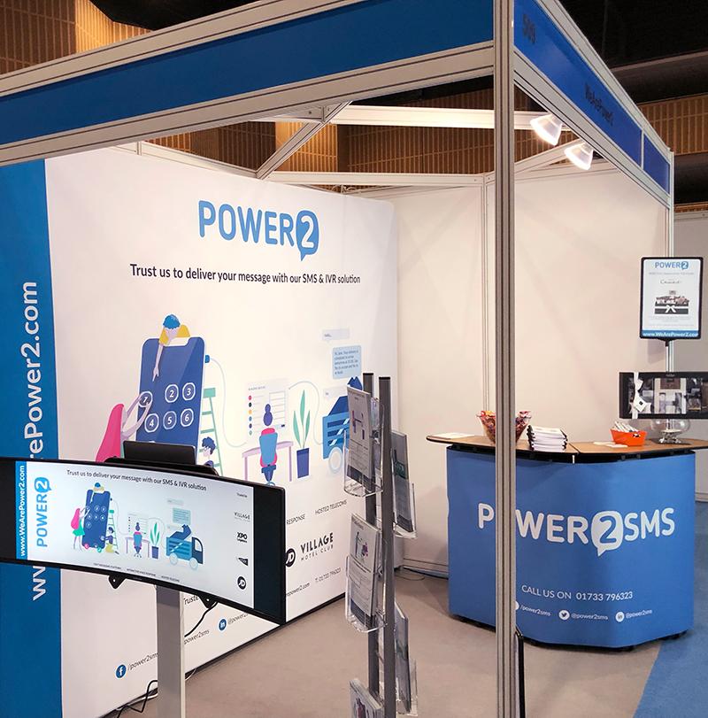 WeArePower2 exhibition stand