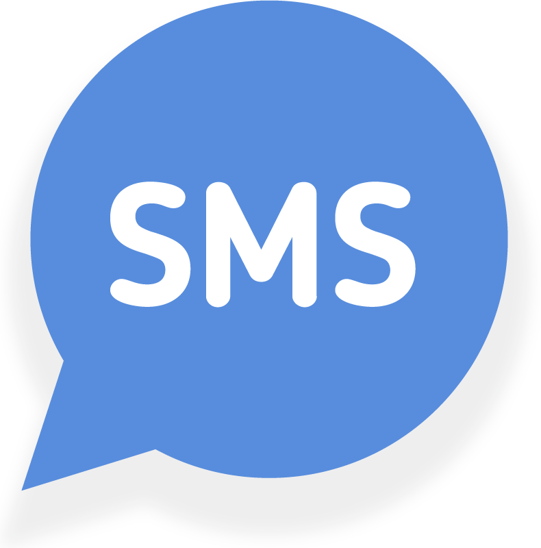 SMS text bubble