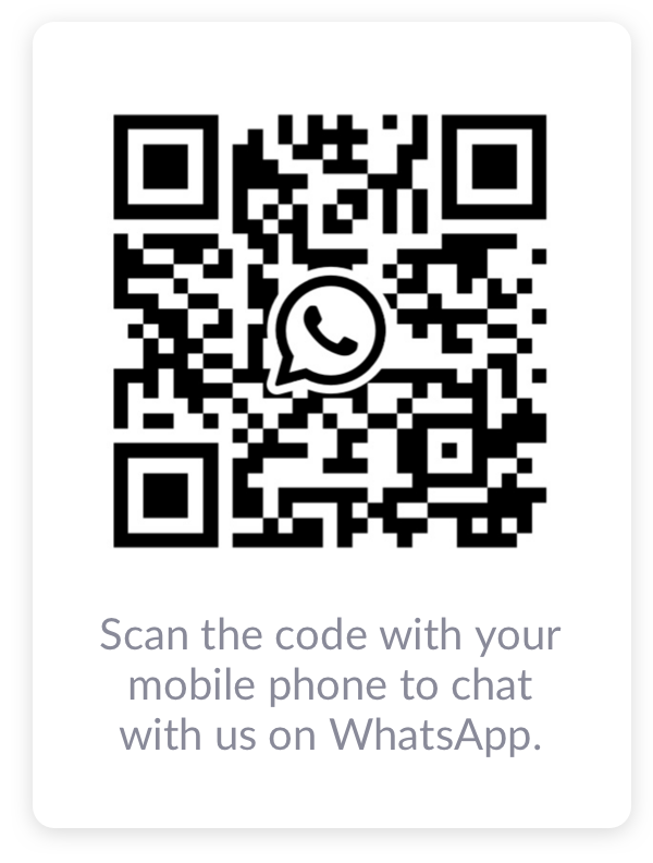 WhatsApp QR reader