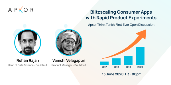 Blitzscaling Consumer Apps With Rapid Product Experiments - Open Discussion With Doubtnut