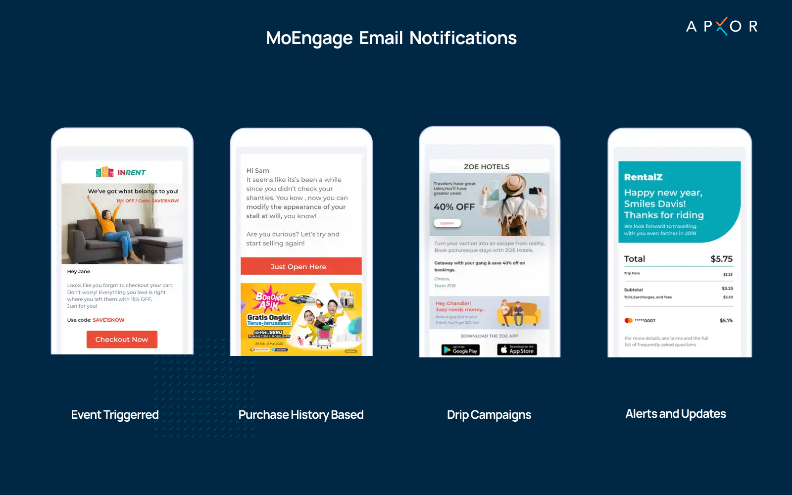 MoEngage's Email Notifications - Apxor