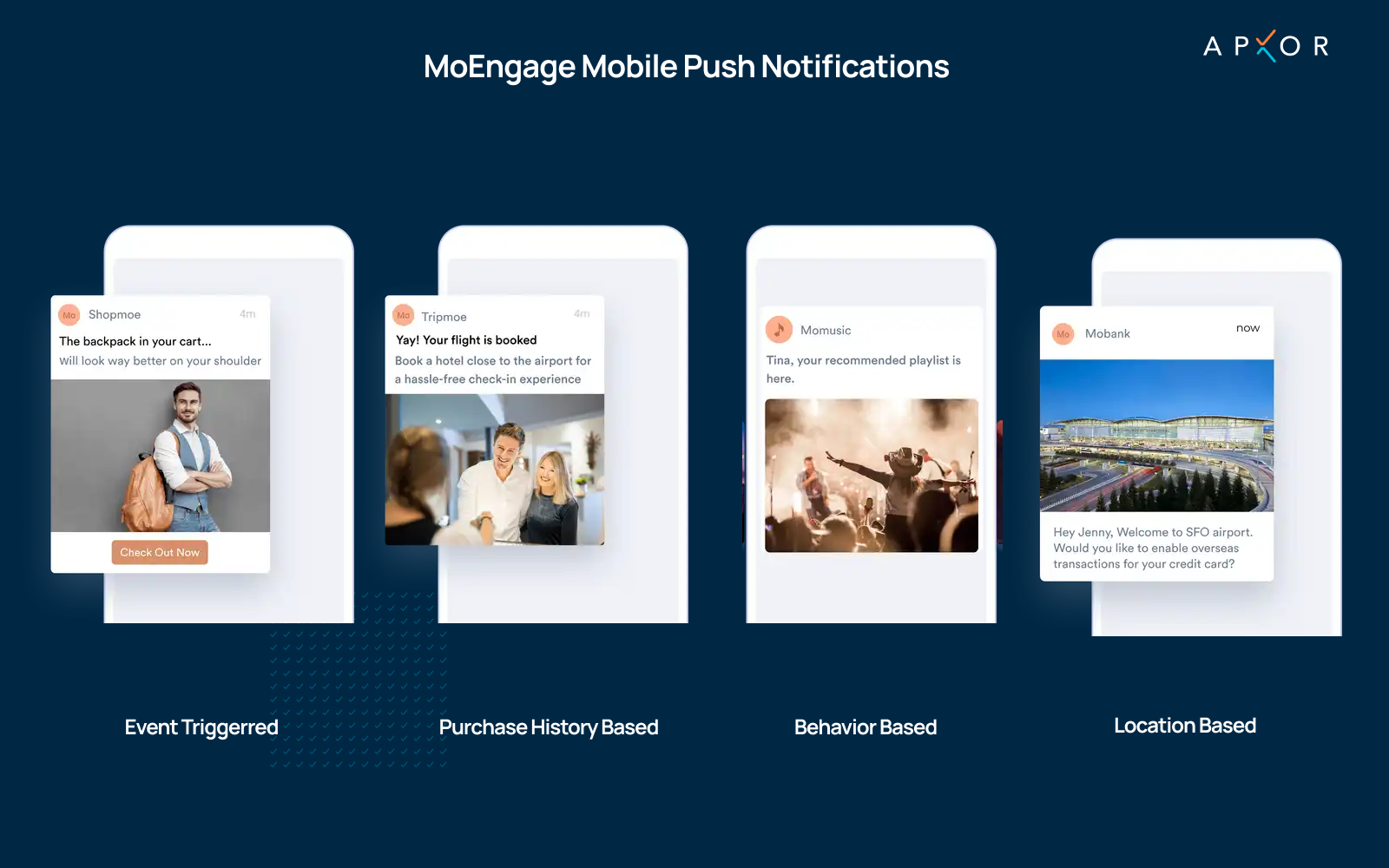 MoEngage's Mobile Push Notifications - Apxor