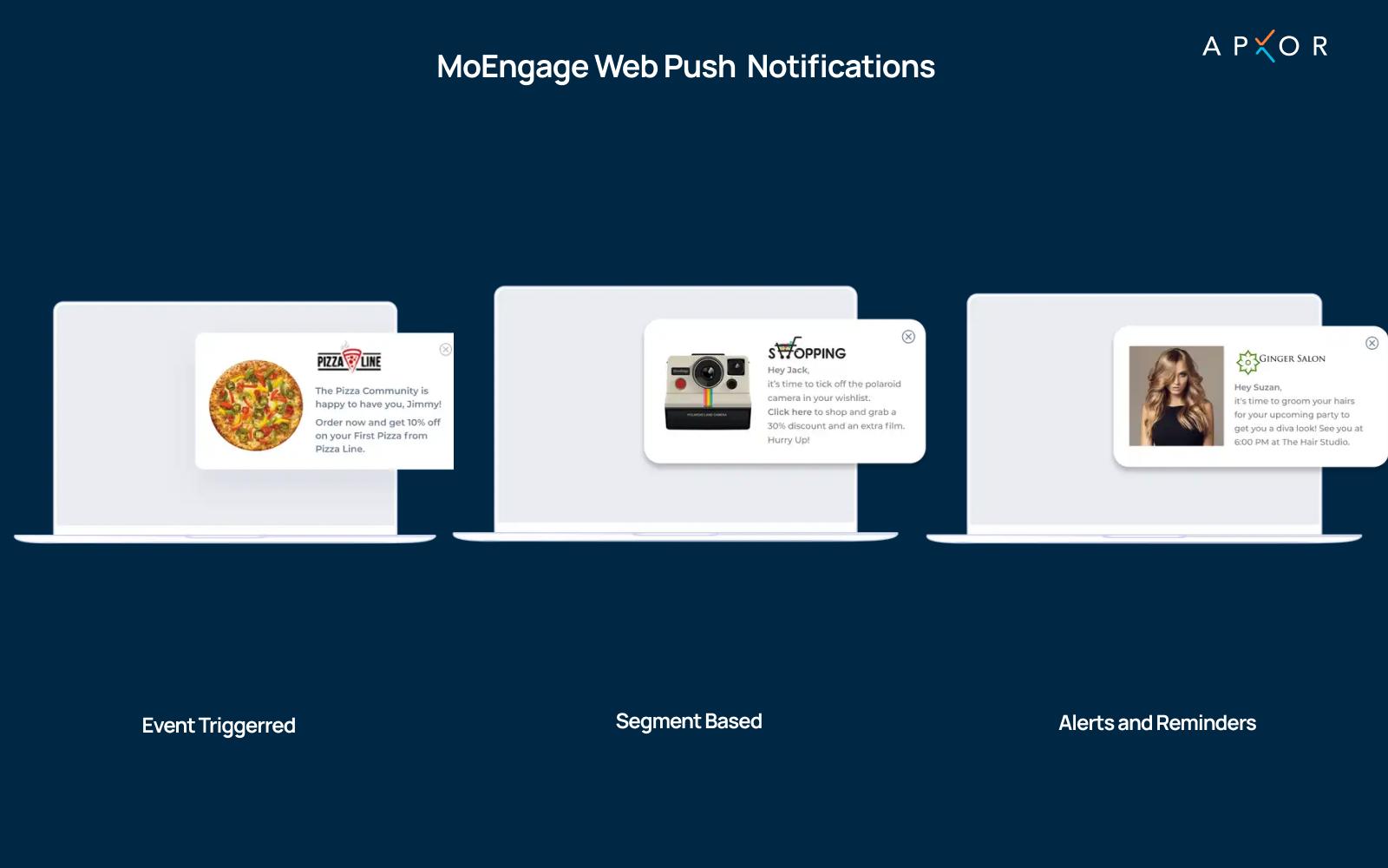 MoEngage's Web Push Notifications - Apxor