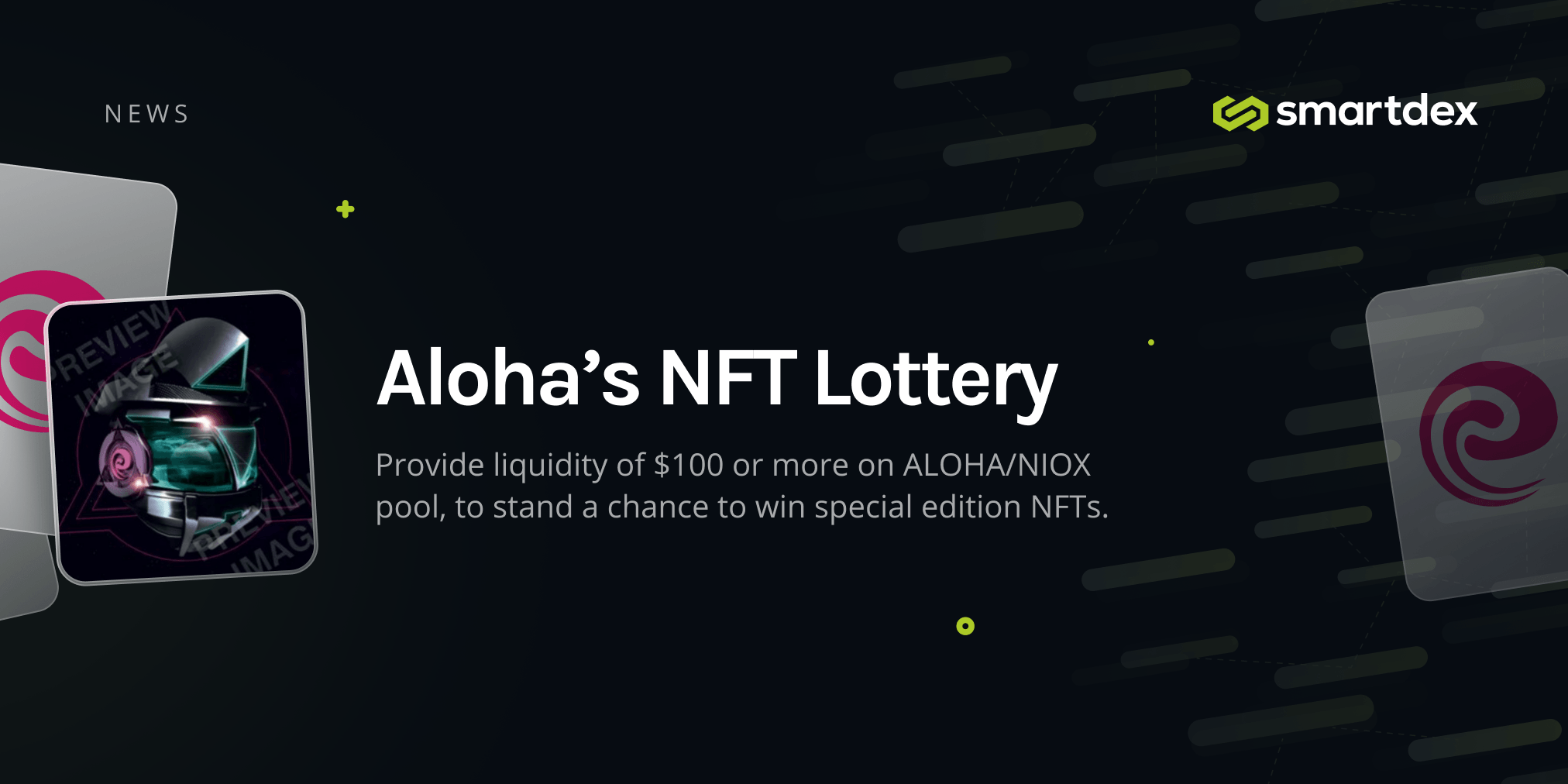 Special Edition NFT LOTTERY Starting