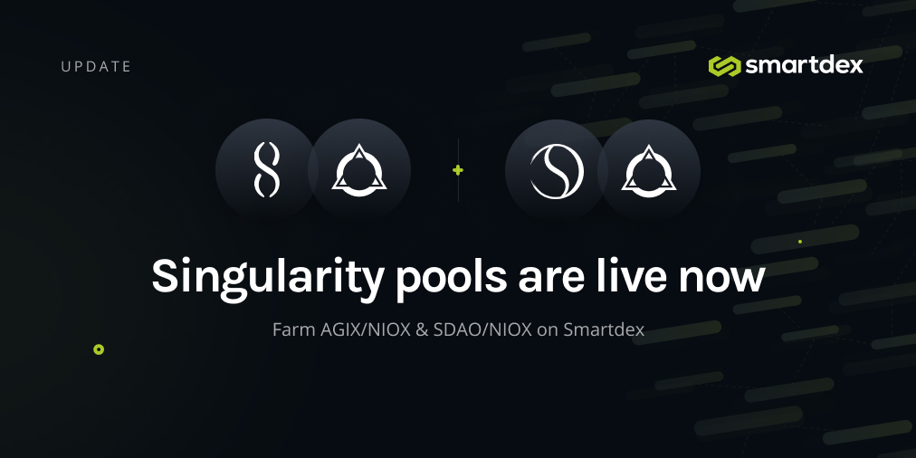 Singularity Pools are now Live!